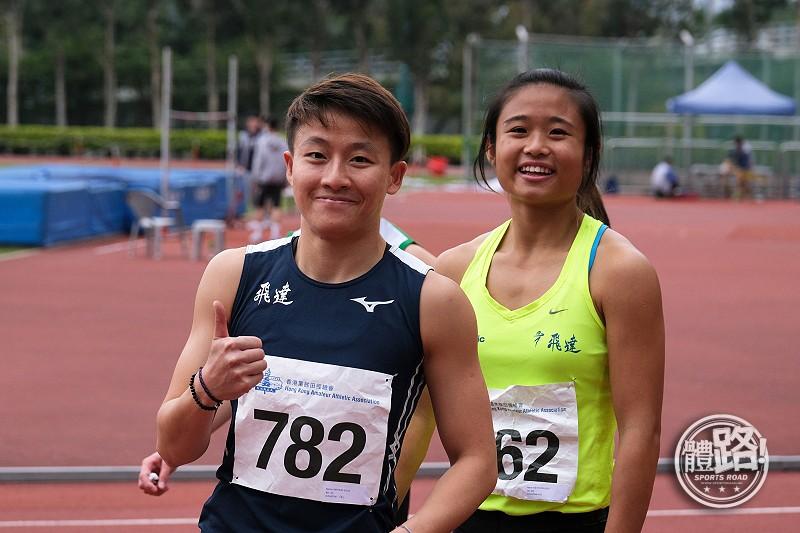 【田徑季前試賽】俞雅欣跳遠封后 林安琪吳家鋒獲60米亞室錦資格